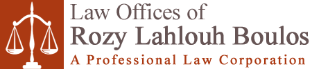 Law Offices of Rozy Lahlouh Boulos, A Professional Law Corporation